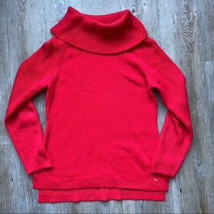 TOMMY HILFIGER | Slouchy Turtleneck Sweater